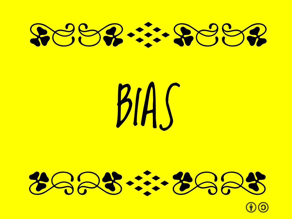 Bias graphic image