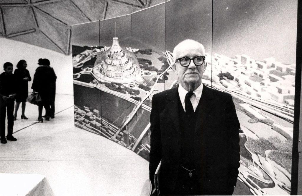 Buckminster Fuller image