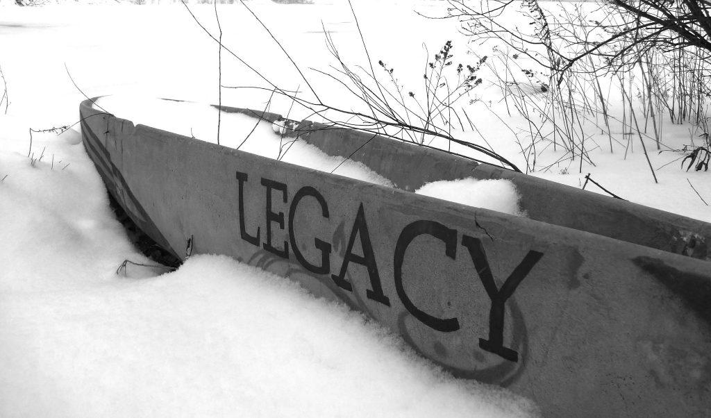 Legacy carvedin stone image