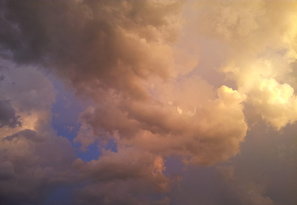 Ethereal clouds image