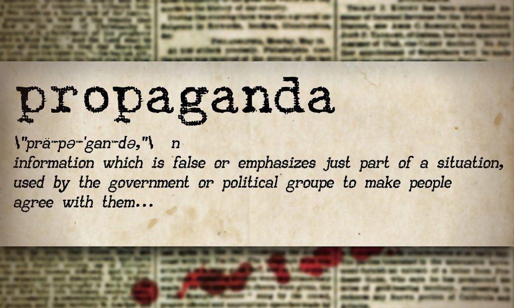Propaganda definition imge