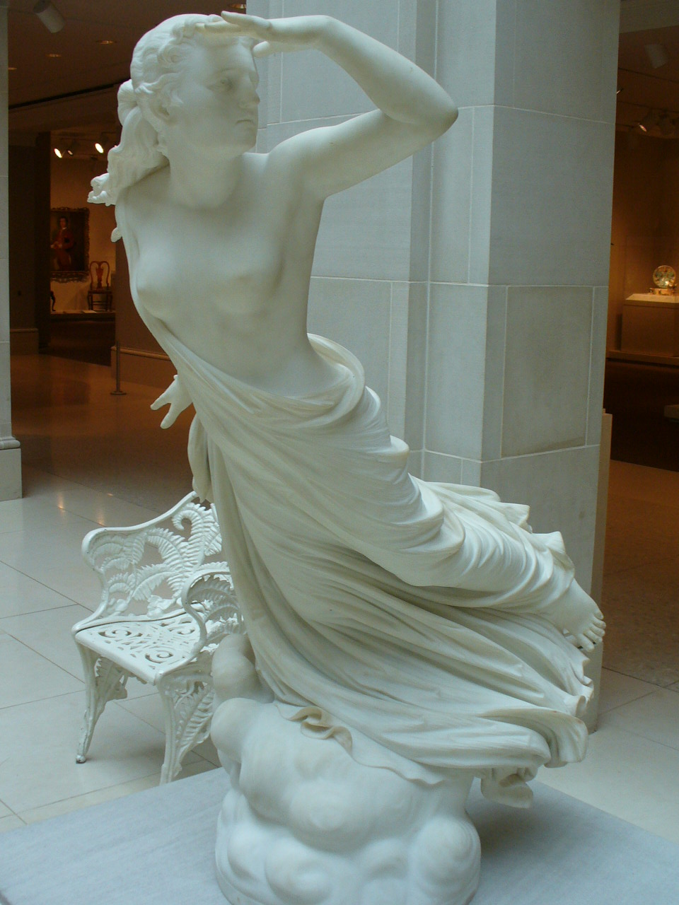 The Lost Pleiade by Randolph Rogers (sculpture)