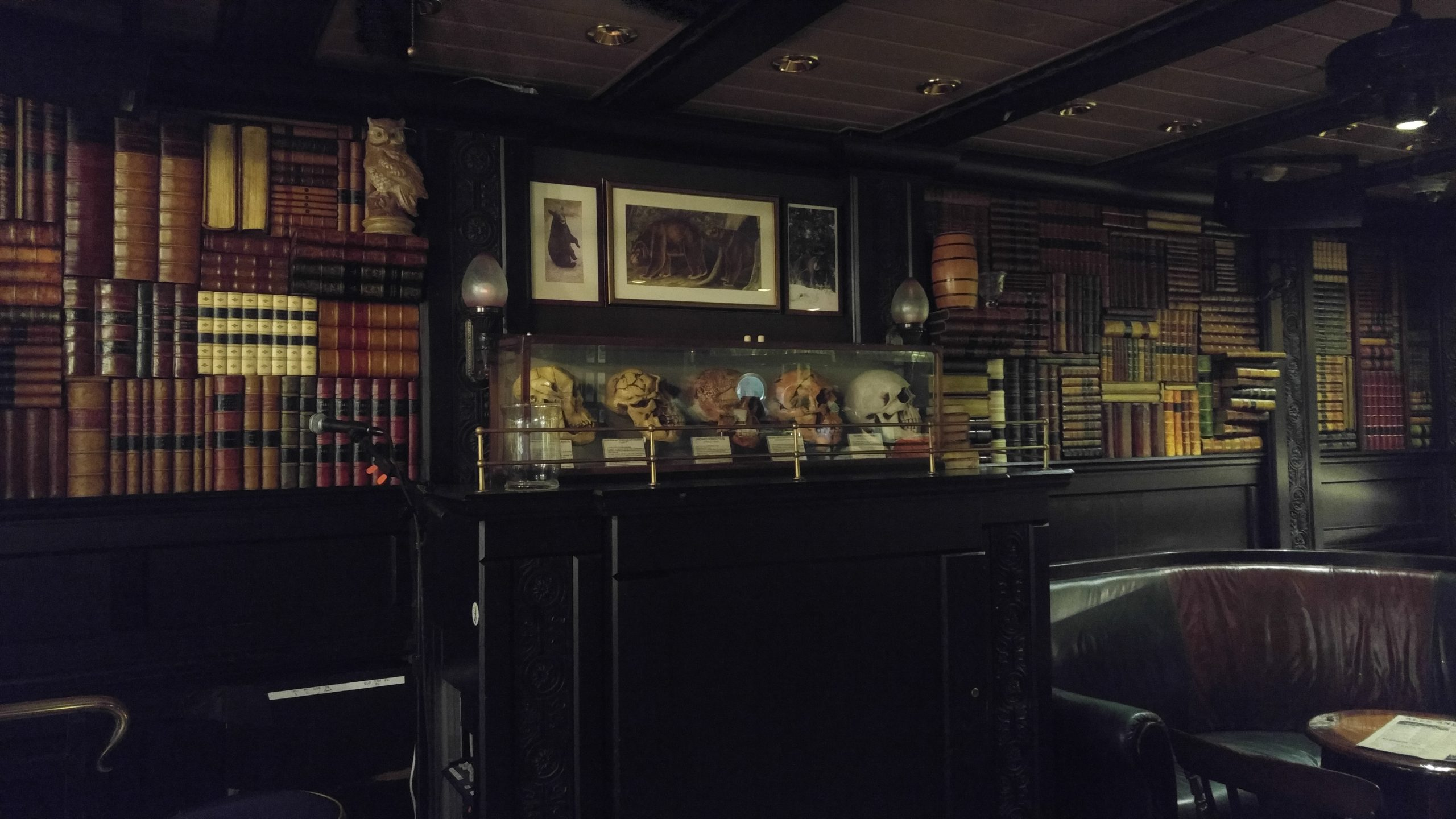 Bull & Bear Pub - Freedom of the Seas (Library)