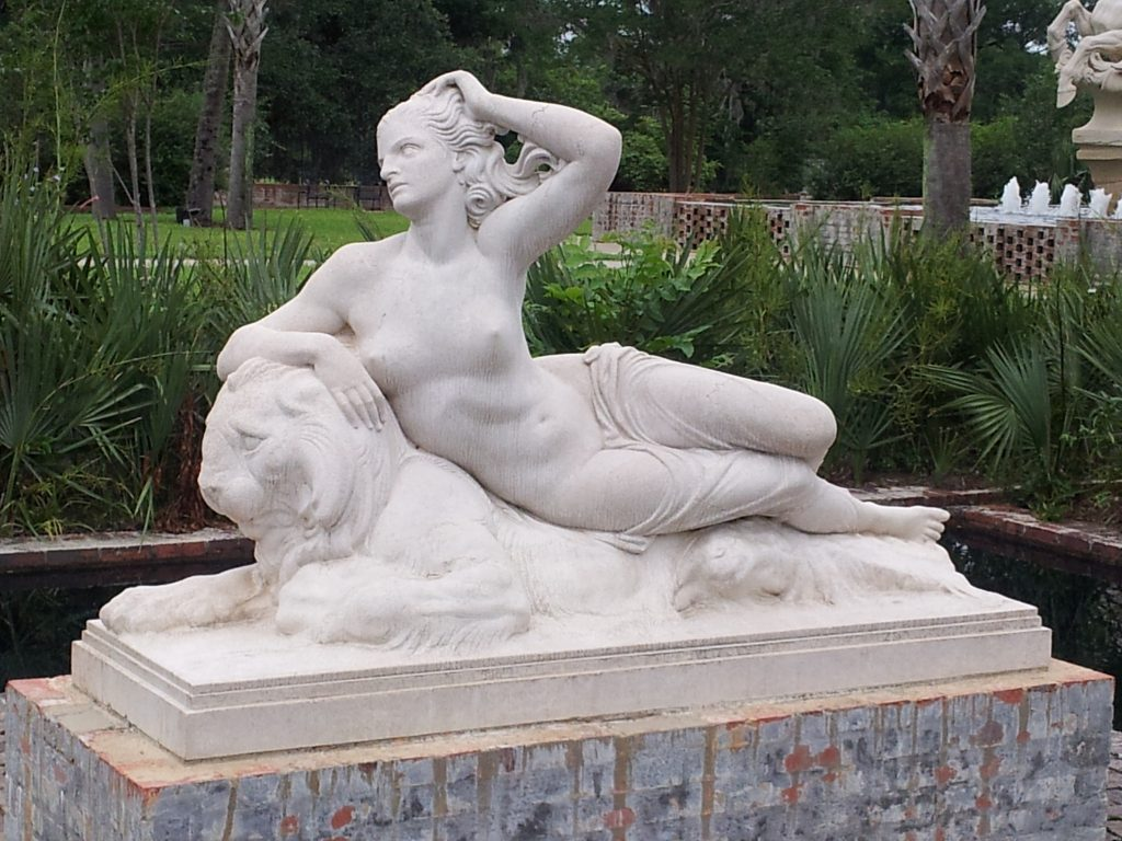 Nereid by Berthold Nebel (sculpture)
