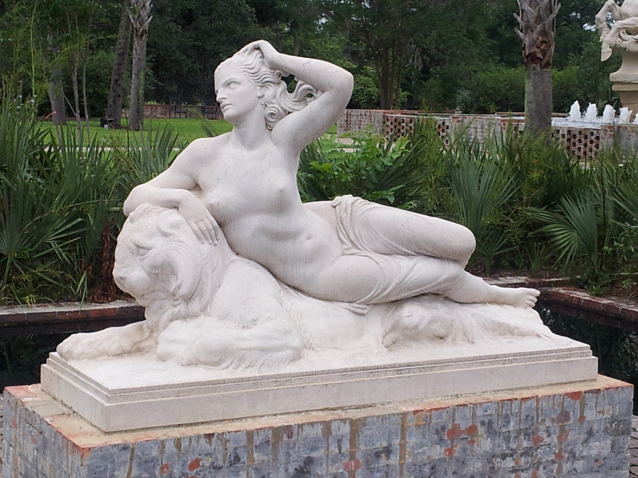 Nereid by Berthold Nebel (sculpture)
