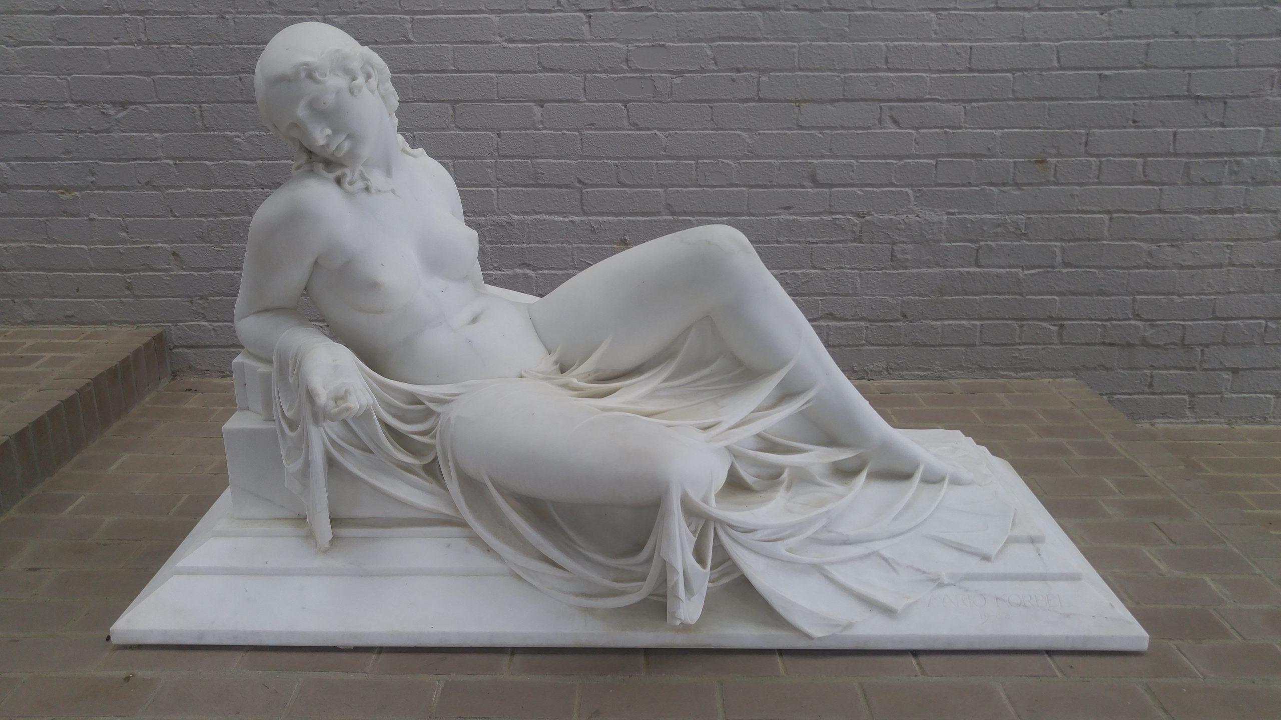 Night by Mario Joseph Korbel (sculpture)