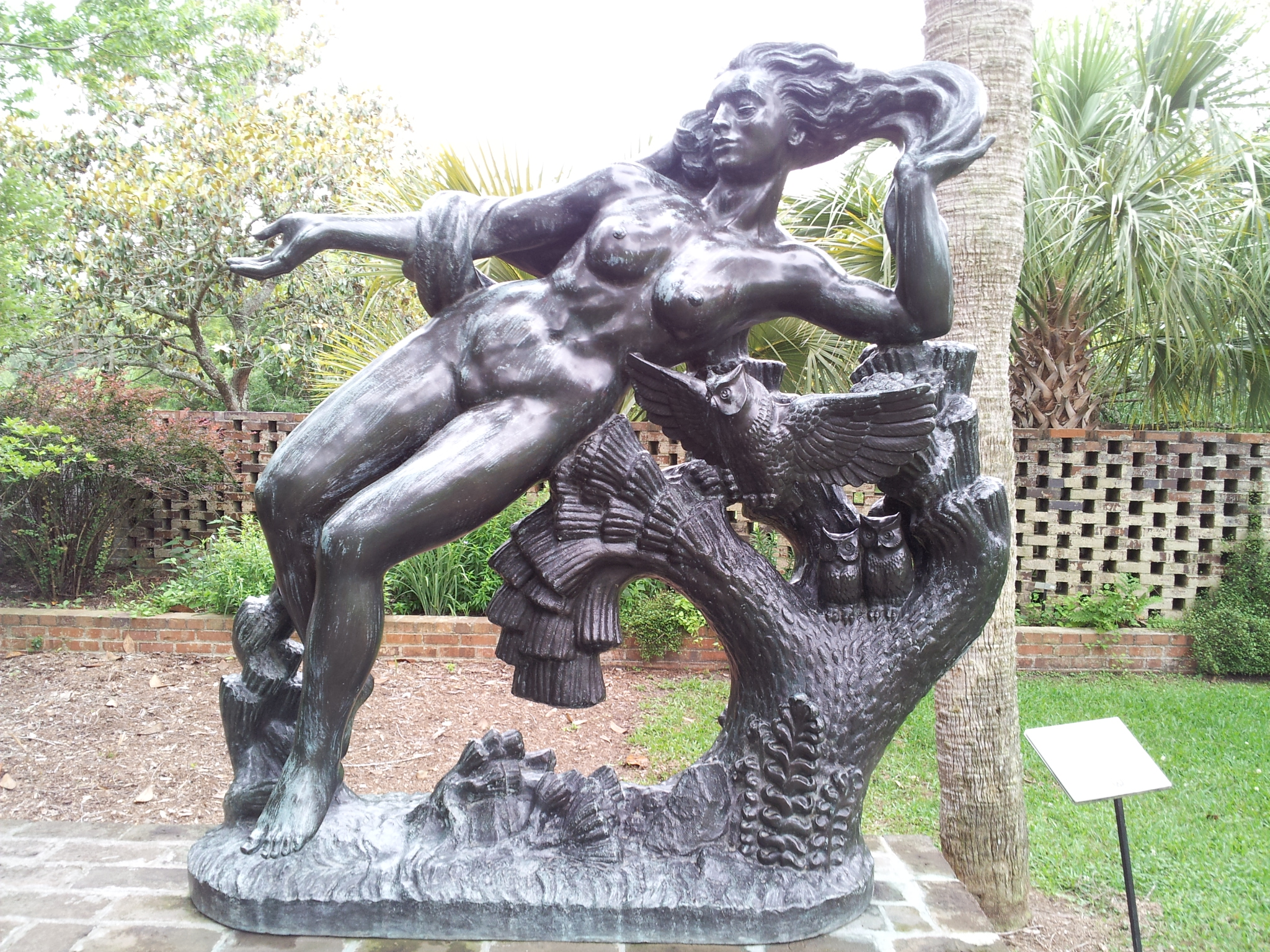 Orpheus and Eurydice by Nathaniel Choate (sculpture)
