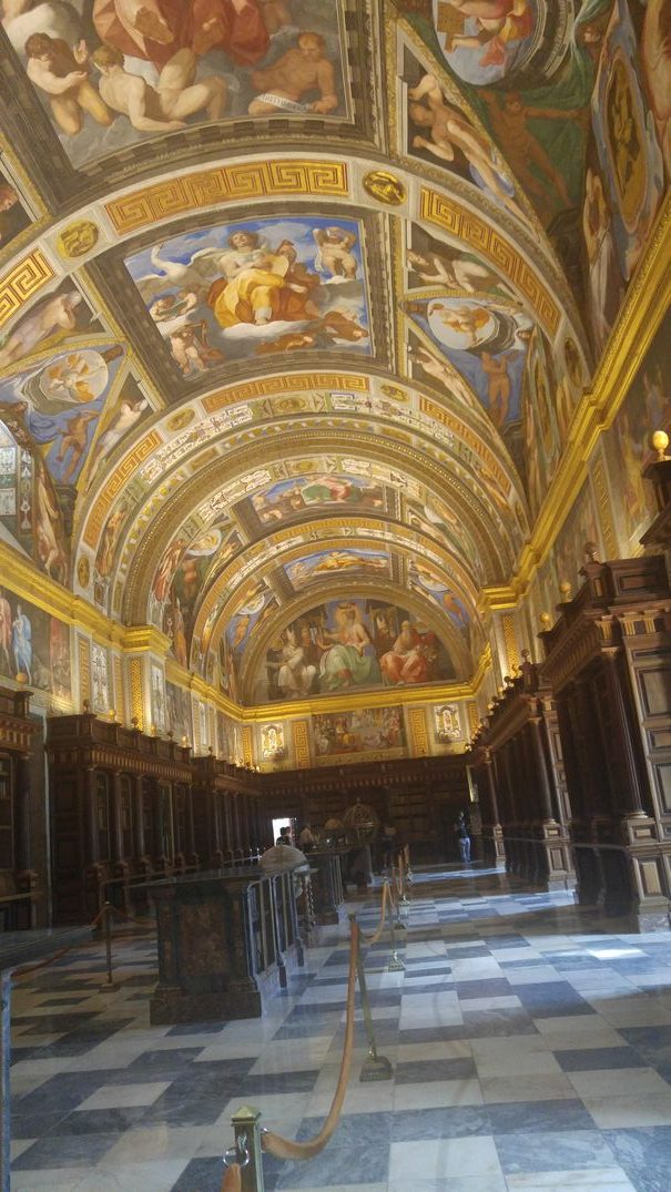 El Escorial Library - Spain