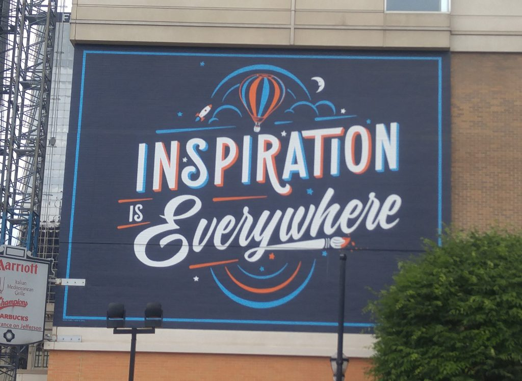 Mural: Inspiration is Everywhere